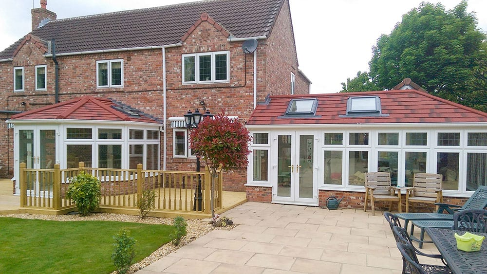 Can a conservatory be converted into an extension?