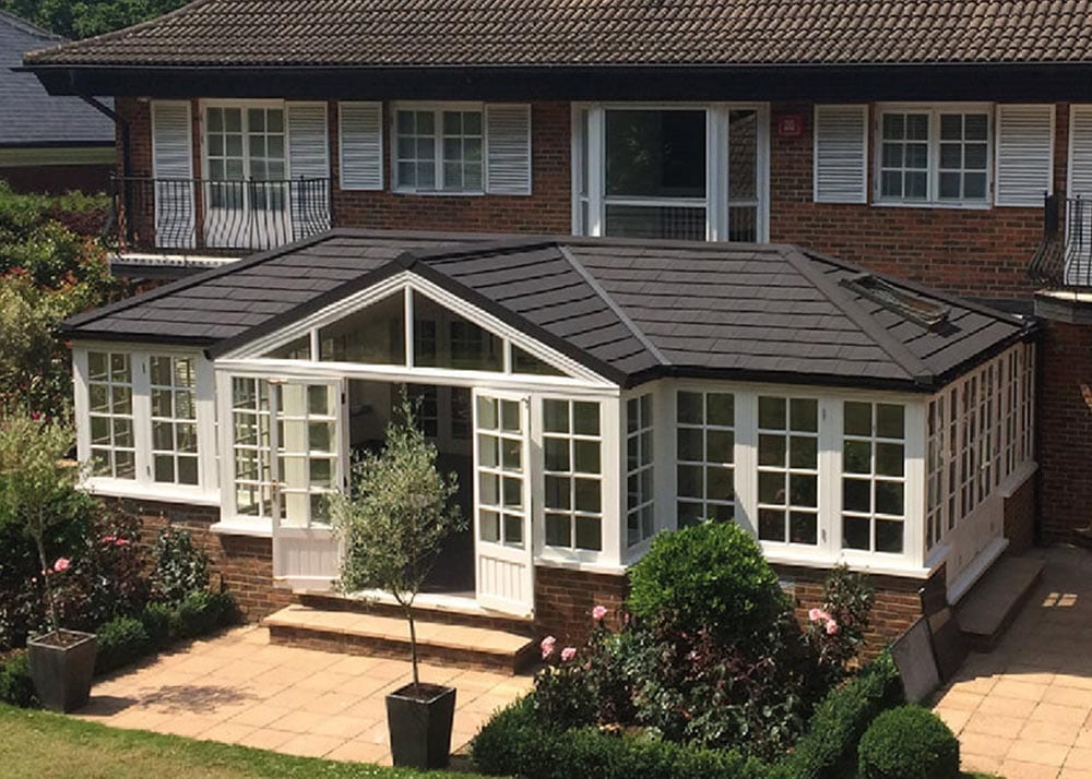 Case study: glass conservatory roof replacement