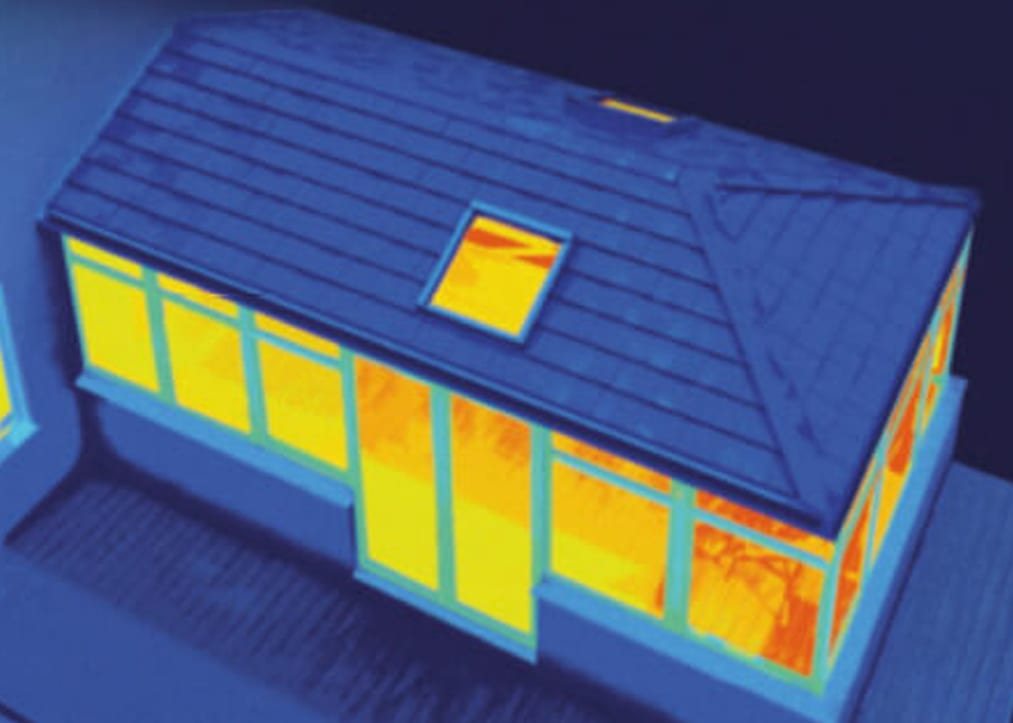 Thermally efficient guardian warm roof