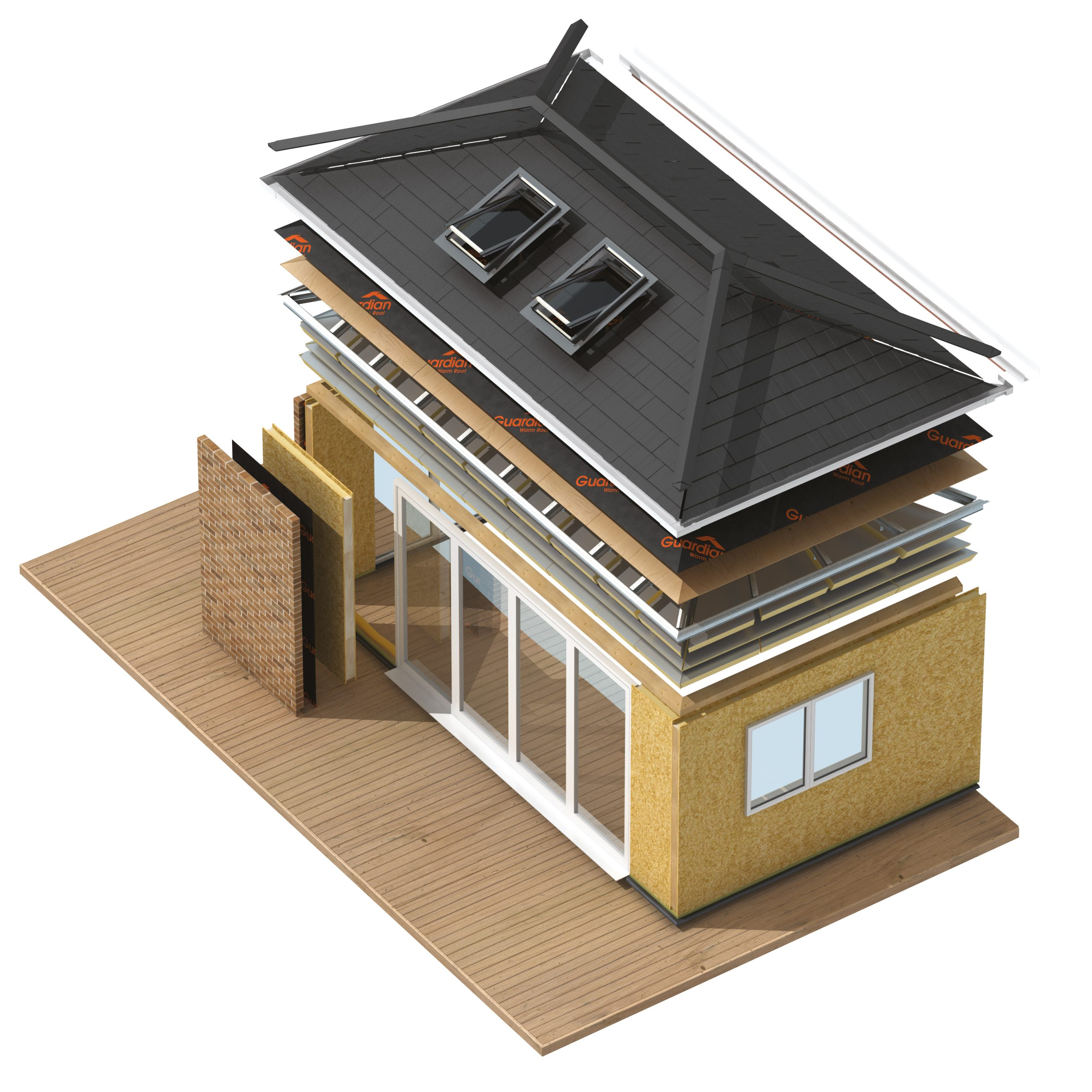 Extend your home with a home extension from Guardian Building Systems
