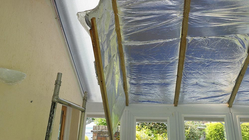 Case study: fixing a conservatory roof clad over