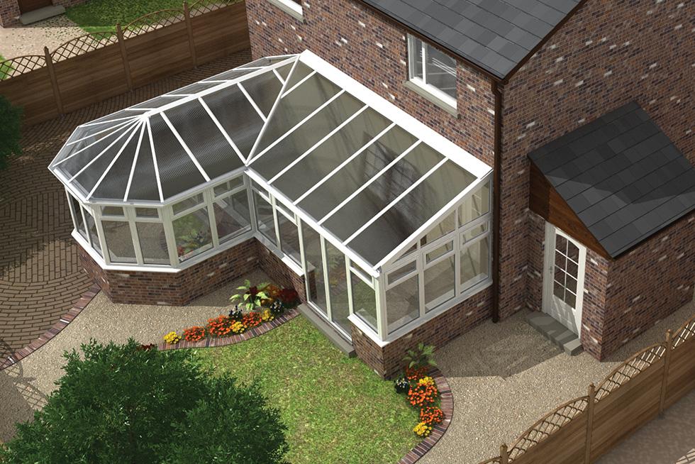 combination conservatory